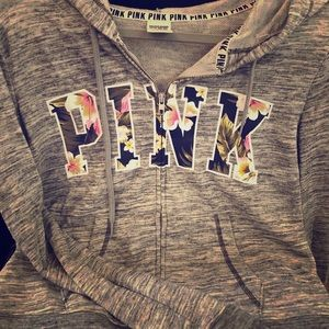 Tops - Victoria Secret PINK zip hoodie